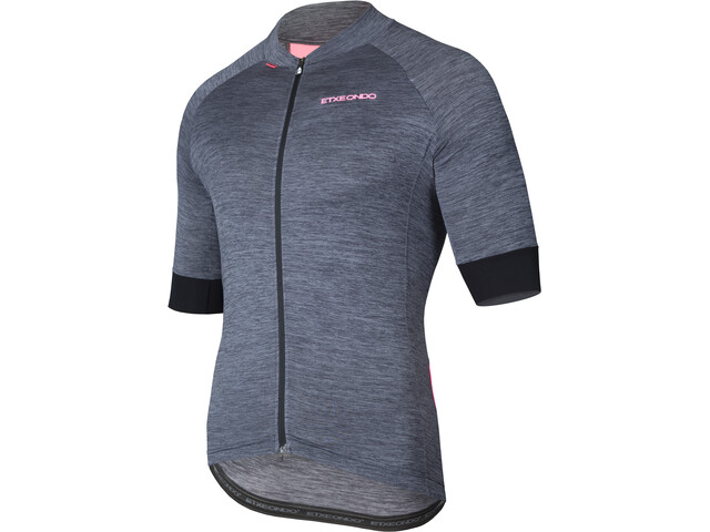 Etxeondo Lurra - Maillot manches courtes Homme - gris/rose